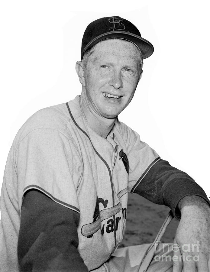 Red Schoendienst Photograph by Kidwiler Collection