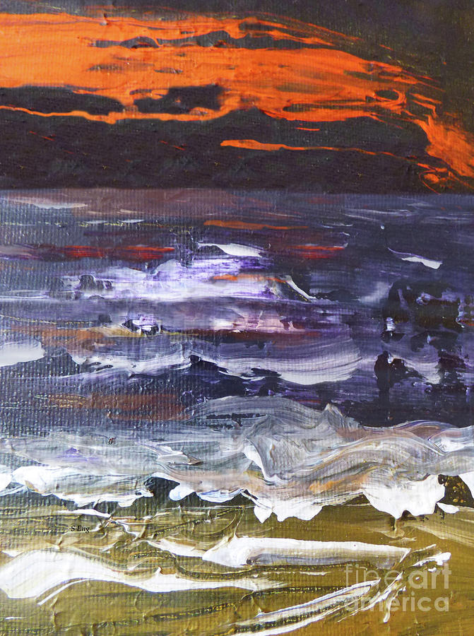 Red Sky at Night III 300 by Sharon Williams Eng