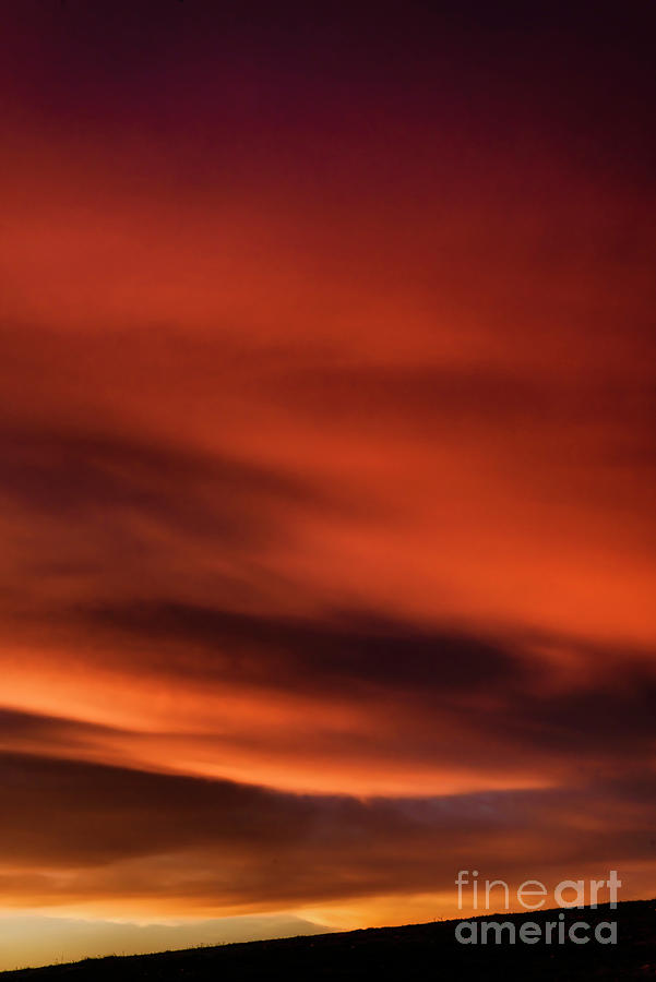 Red Sky Morning Warning Photograph