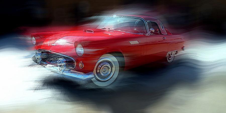 Red Thunderbird by David Manlove