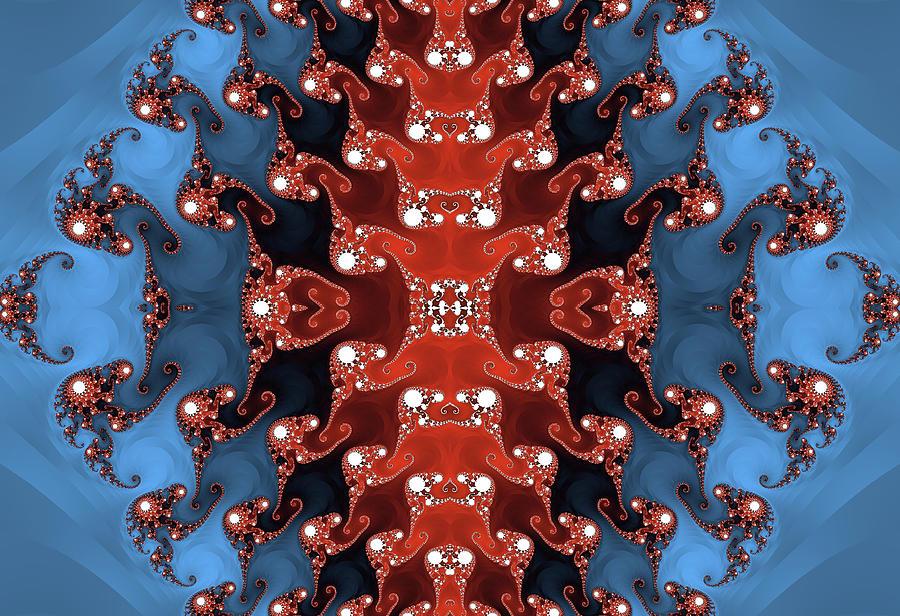 Red Tide Fractal Design Photograph