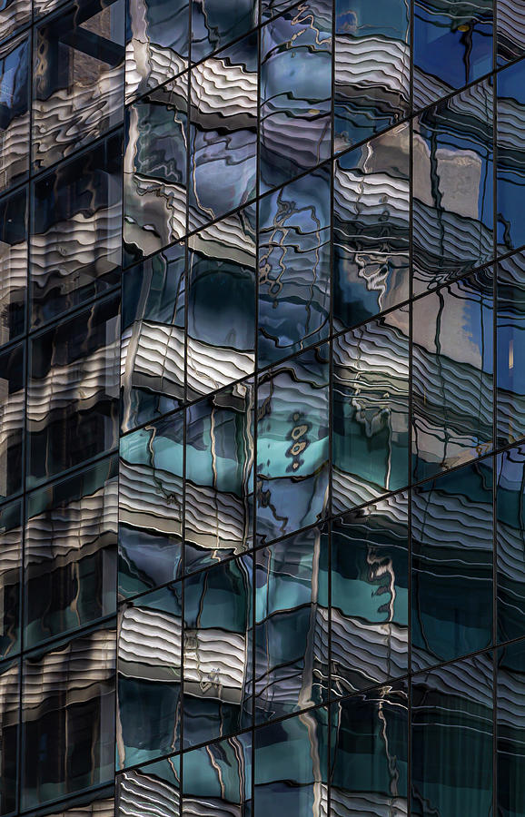 Reflective Glass Architecture by Robert Ullmann