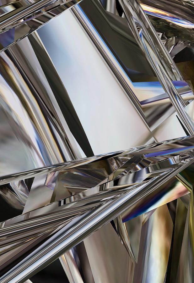 Refined Glass Digital Art