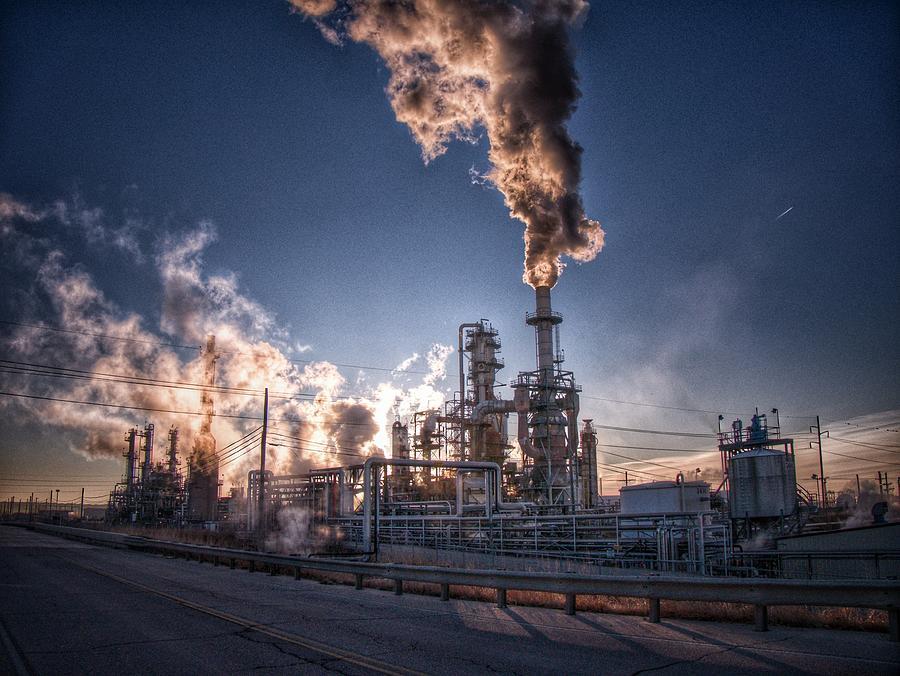 Refinery Smoke Photograph