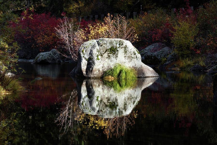Reflecting Rock by Harold Carlson