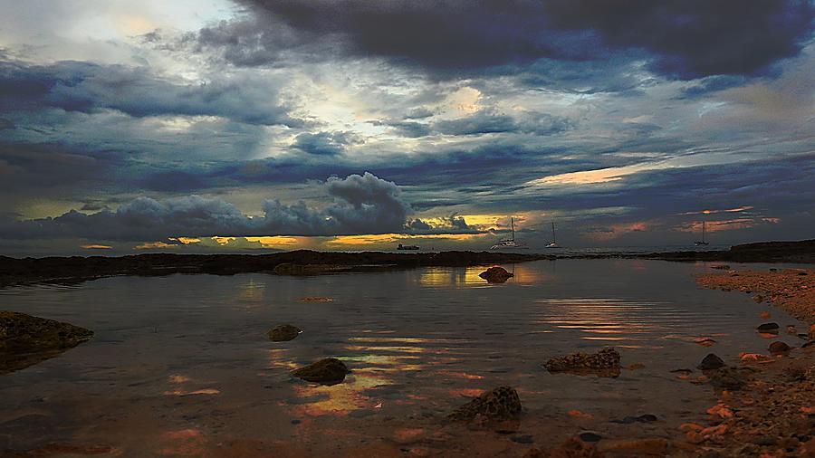 Reflecting Sky Digital Art by Alan Wenberg