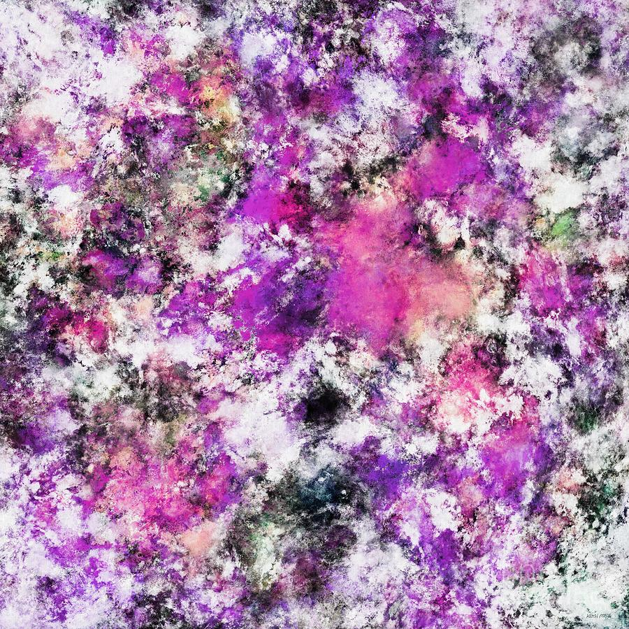 Pink Digital Art - Reflecting The Purple Water by Keith Mills