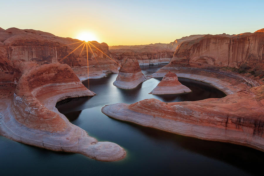 Reflection Canyon Sunrise Photograph