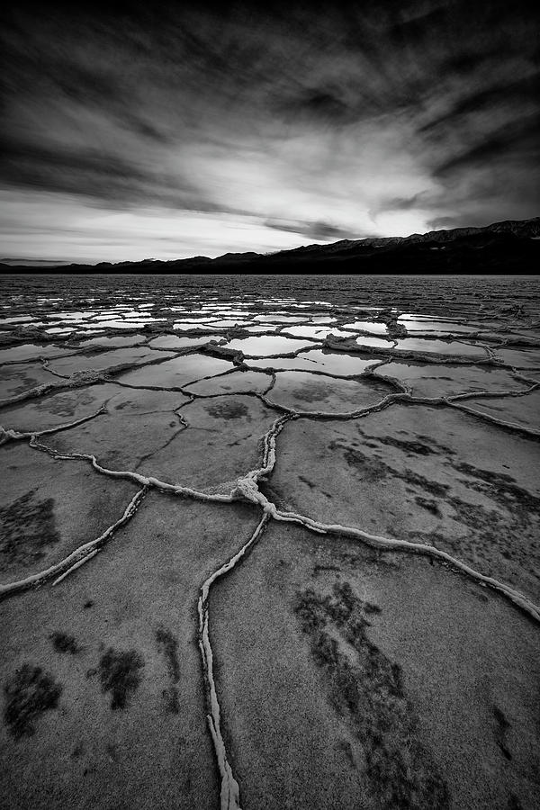 Reflection In Death Valley II Photograph