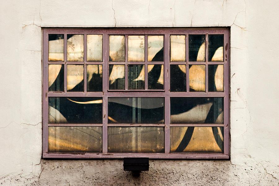Reflection On Glass Window Of House Photograph by Roman Pretot / EyeEm