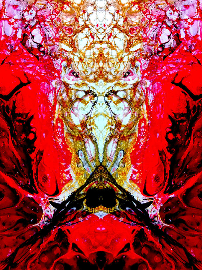 Reflection - See Yourself No 24 by Vincent Burkhead
