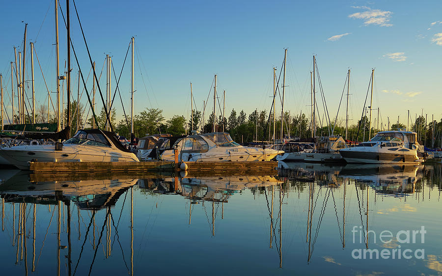 Reflections At Golden Hour Photograph