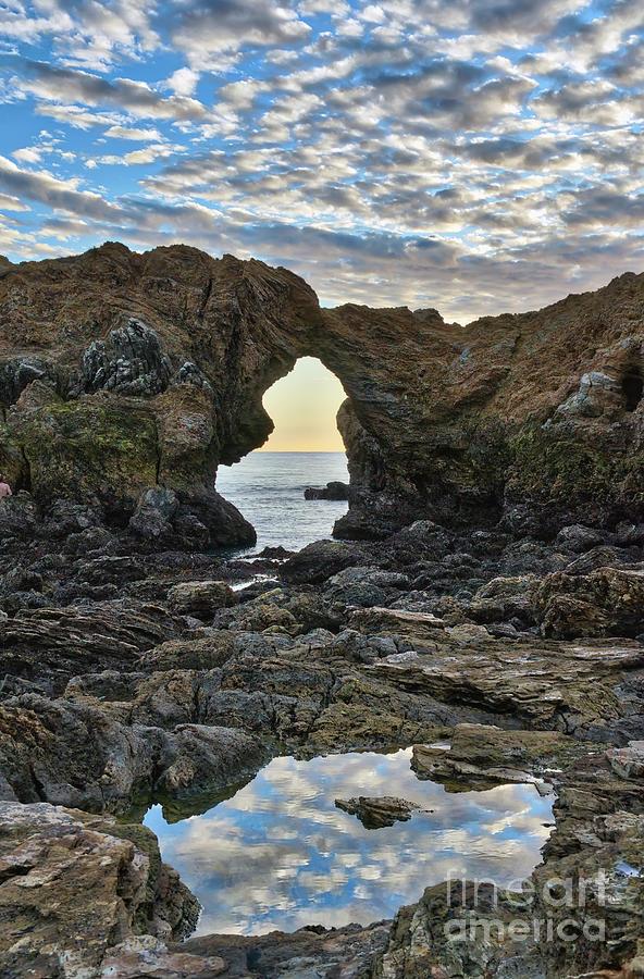 Reflections At Ladder Rock Photograph