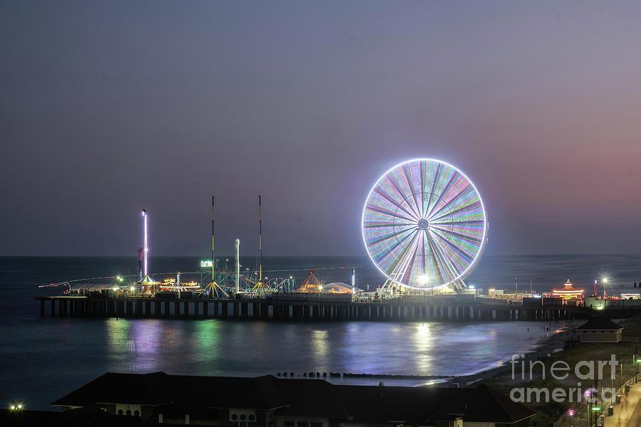 Reflections of Atlantic City  by Paul Watkins