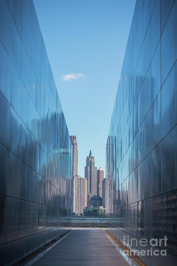 Reflections of Empty Sky Memorial by Colleen Kammerer