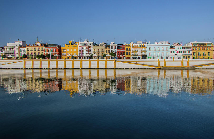 Seville Photograph - Reflections of Seville by Venetia Featherstone-Witty