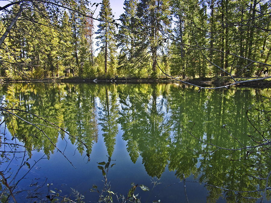 Reflections On The Wood River Photograph