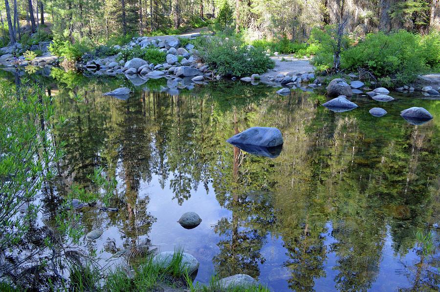 Reflective Dinkey Creek 2 Photograph