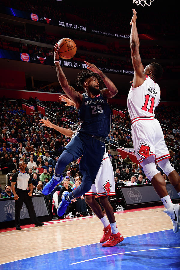 Reggie Bullock Photograph by Chris Schwegler