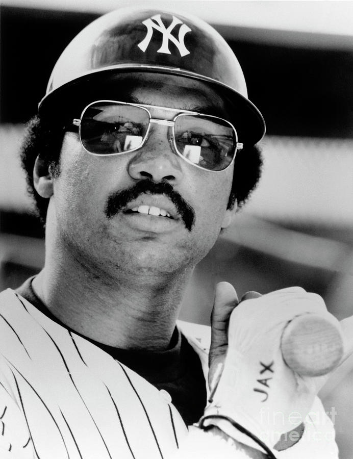 Reggie Jackson Photograph by National Baseball Hall Of Fame Library