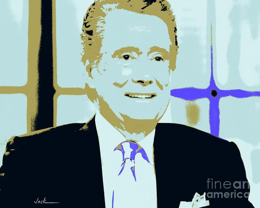 Regis Painting - Regis Philbin by Jack Bunds