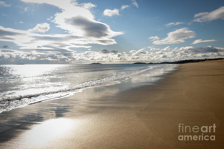 Reid State Park Beach Maine Photograph