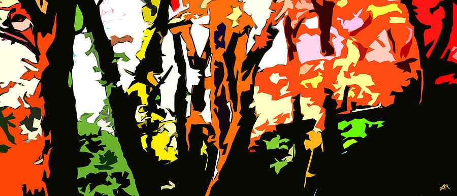 Abstract Digital Art - Remarkable Expression by Linda Mears