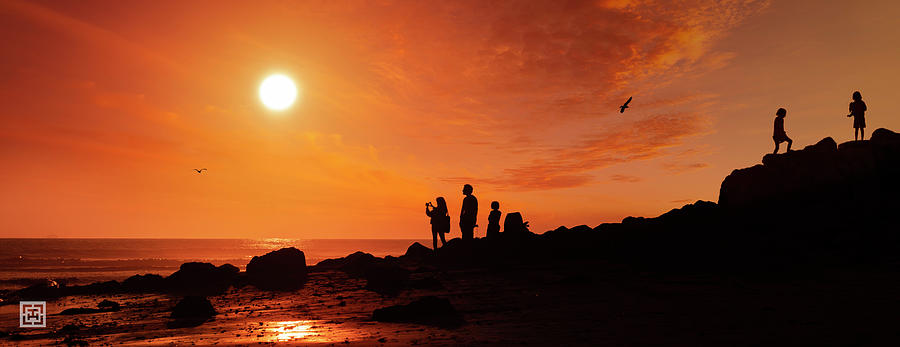 Family Photograph - Remember Surfers Point  by Tim Hungerford