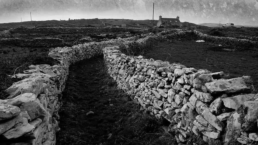 Remote Irish Farmhouse Photograph