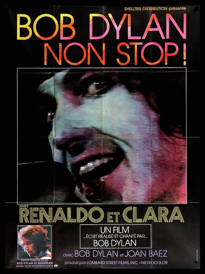 renaldo And Clara Movie Poster 1978 Bob Dylan Mixed Media