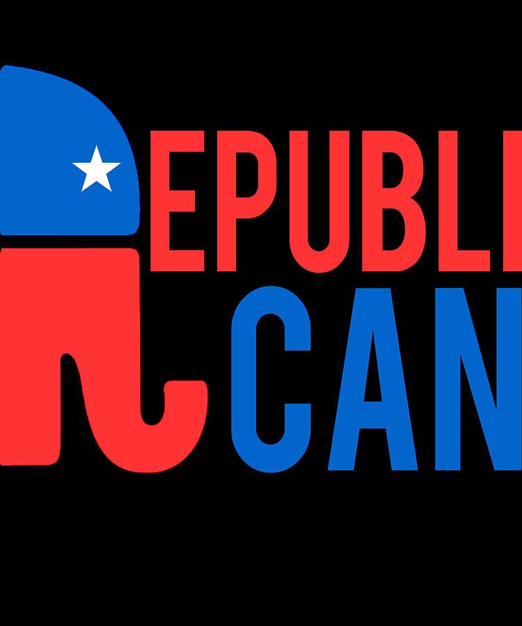 Republican Digital Art - Republican Republi Can Do Anything by Flippin Sweet Gear