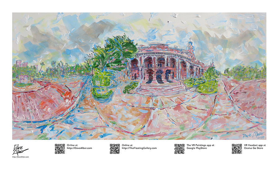 Gallery Painting - Resilient Americana Higher Education Plant Hall at the University of Tampa by Dave Alber