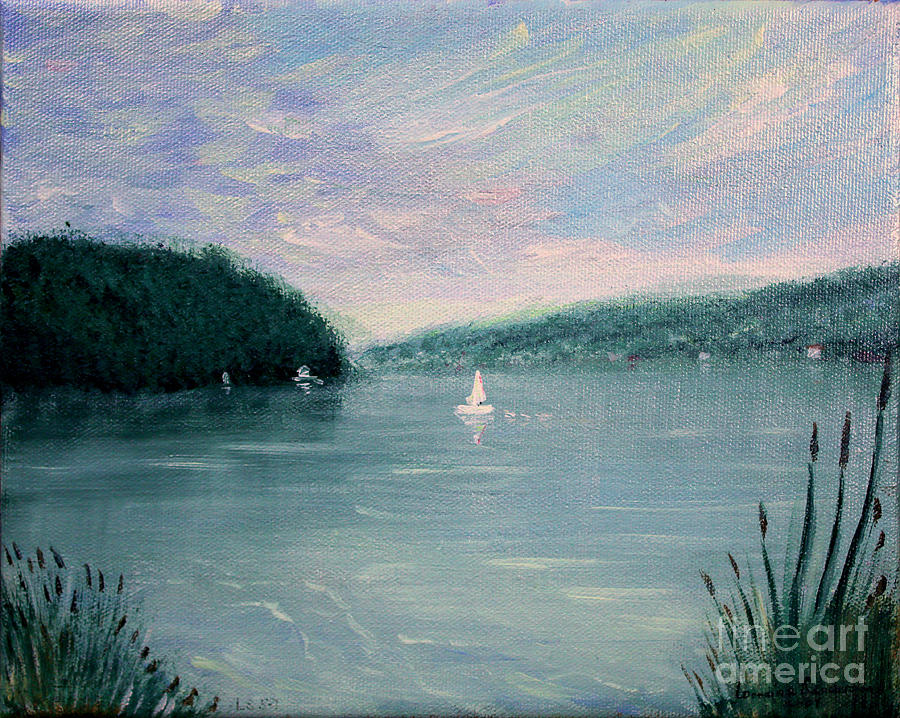 Respite Skaneateles Lake NY by Lorraine Sanderson