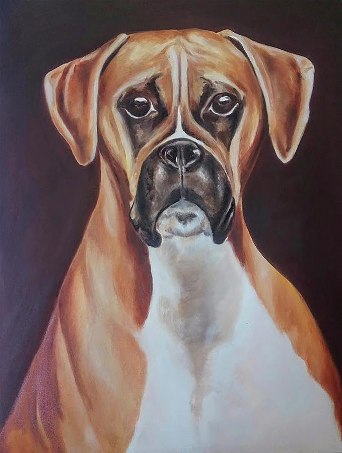 retrato de perro by Carlos Jose Barbieri