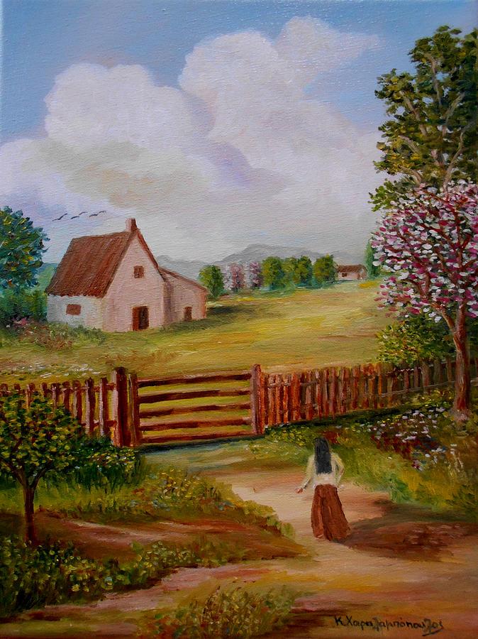 Return To Farmhouse Painting