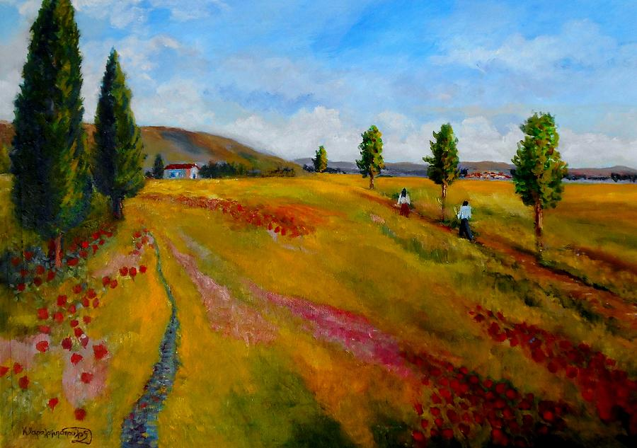 Returning  Home Painting
