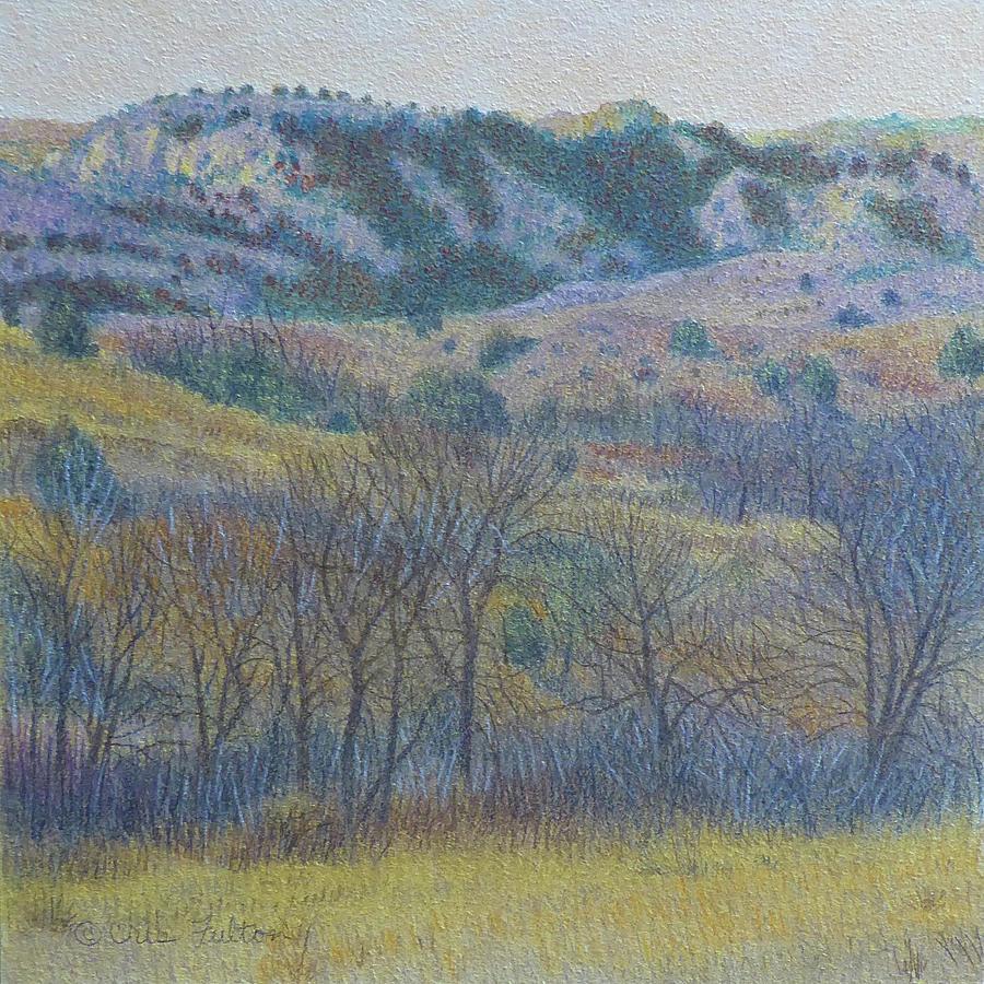 North Dakota Painting - Reverie of Dakota West, painting by Cris Fulton