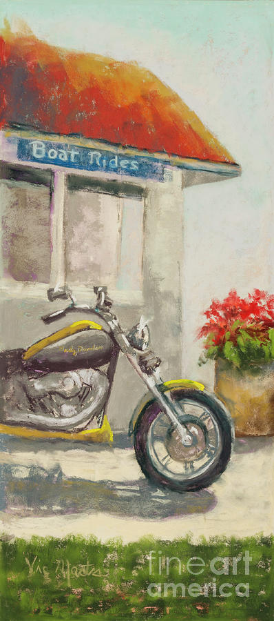 Revin to Go-Motorcycle by Vic Mastis