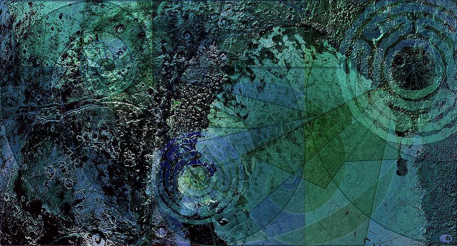 Revolution 9 Triptych by Kenneth Armand Johnson