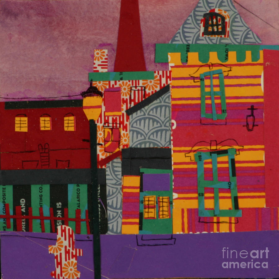Lowell Mixed Media - Revolving Museum by Debra Bretton Robinson