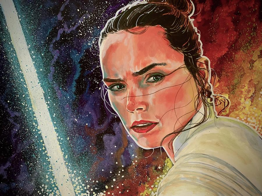 Rey Skywalker by Joel Tesch