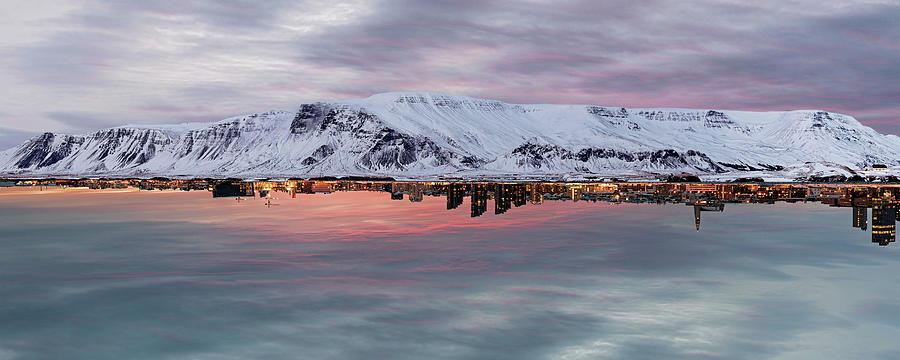 Iceland Photograph - Reykjavik by Marino Flovent