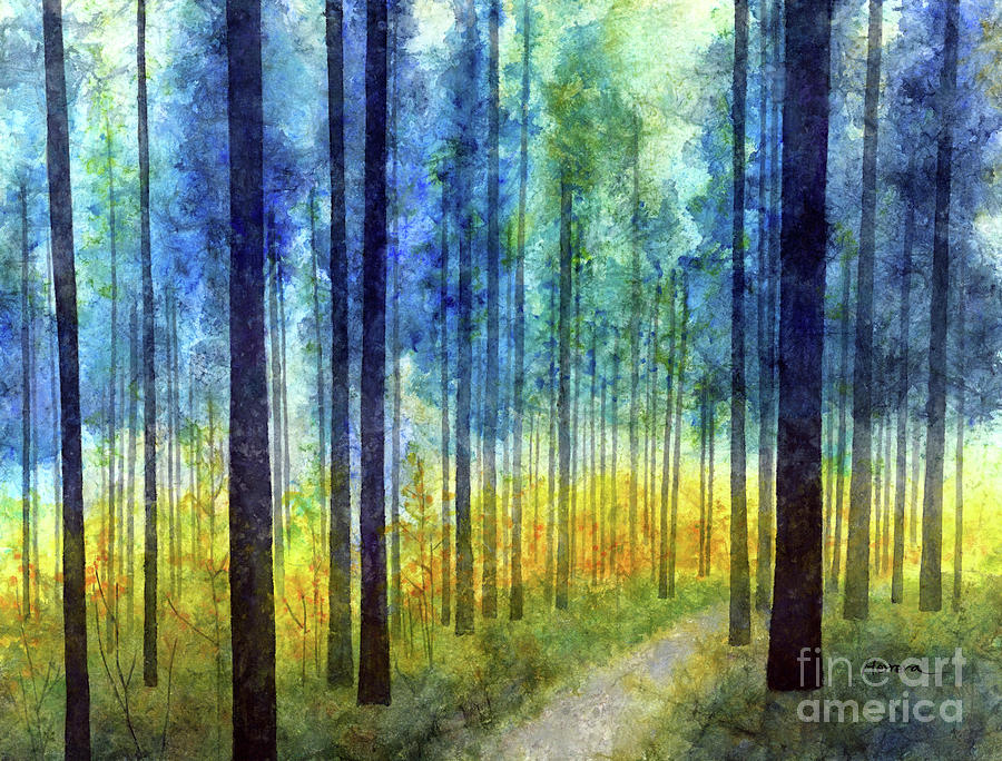 Rhythm And Blues-pastel Colors Painting