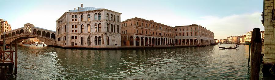 Landscape Photograph - Rialto Bridge in Venice by Brian McCarthy