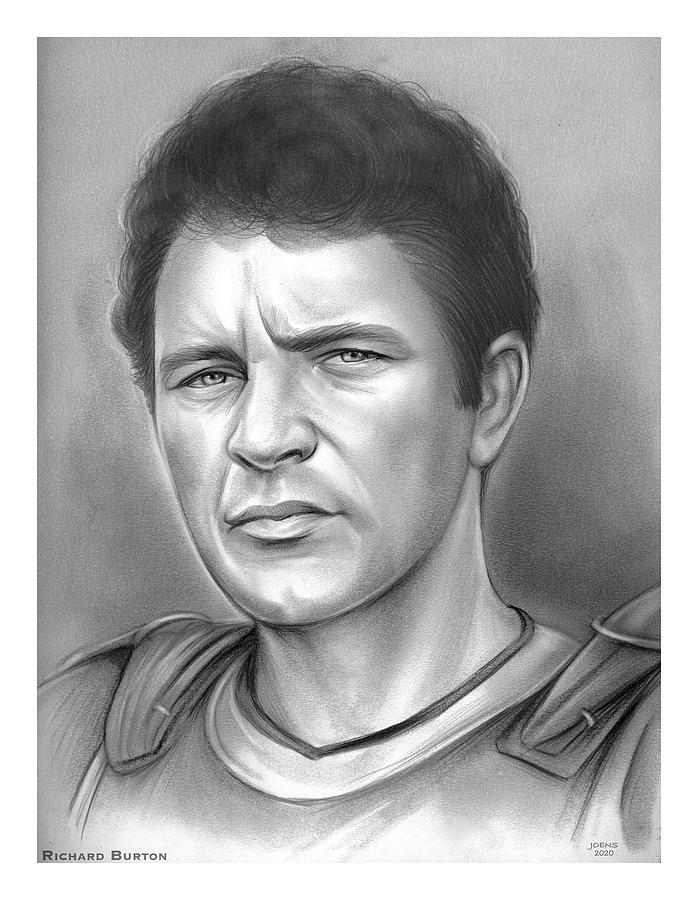 Richard Burton - Pencil Drawing