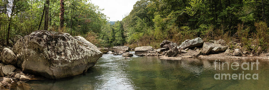 Richland Creek Panorama 2 by Garry McMichael