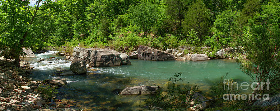 Richland Creek Panorama by Garry McMichael