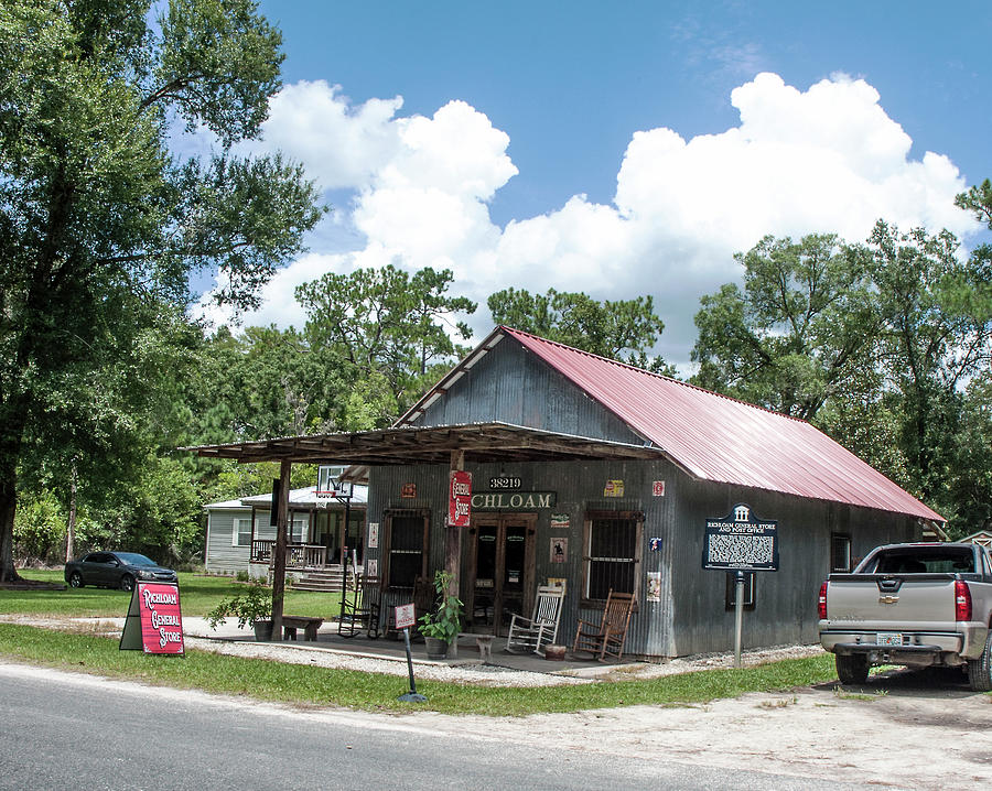 Richloam General Store And Post Office Photograph
