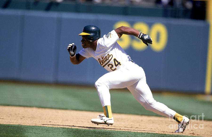 Rickey Henderson Photograph by Jeff Carlick