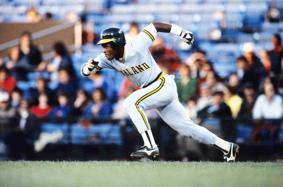 Rickey Henderson Photograph by Ronald C. Modra/sports Imagery